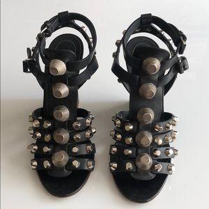 Balenciaga wedge sandal